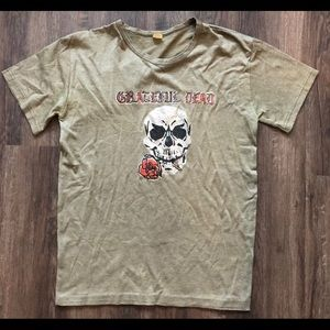 VTG 1970s GRATEFUL DEAD T SHIRT Medium tour skull
